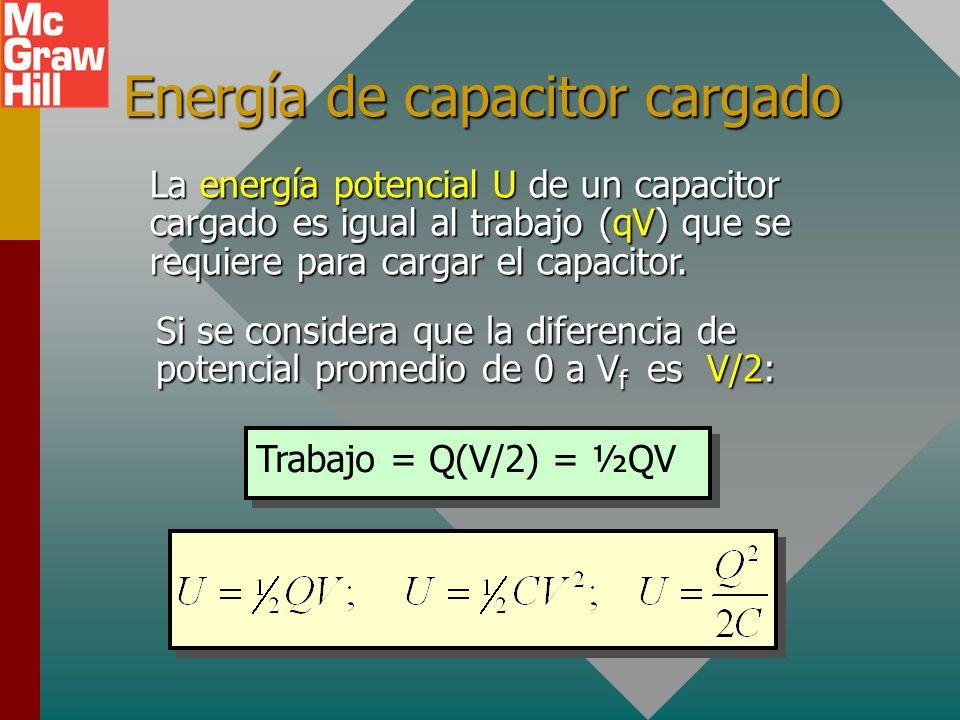 Ejemplo 5 (Cont.): Si la batería de 400 V se reconecta después de insertar la mica, ¿qué carga adicional se agregará a las placas debido a la C aument