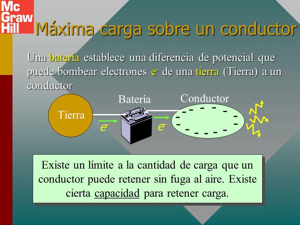 Objetivos: Después de completar este módulo deberá: Definir la capacitancia en términos de carga y voltaje, y calcular la capacitancia para un capacit