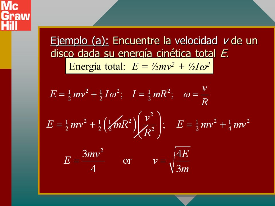 ¿Traslación o rotación? Si debe resolver un parámetro lineal, debe convertir todos los términos angulares a términos lineales: Si debe resolver un par