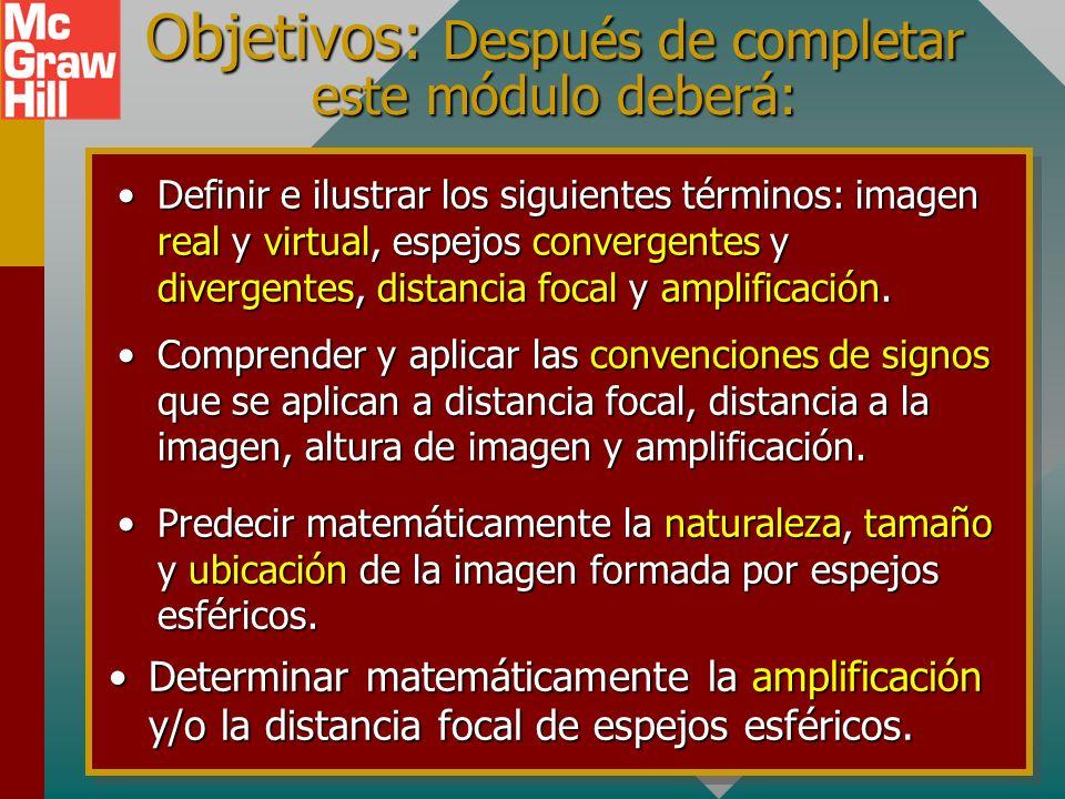 Capítulo 34B – Reflexión y espejos II (analítico) Presentación PowerPoint de Paul E. Tippens, Profesor de Física Southern Polytechnic State University