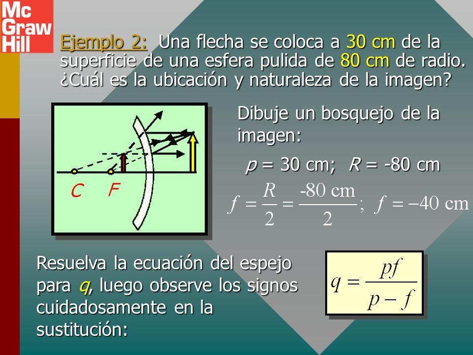 ¡Tenga cuidado con la sustitución de los números signados! Soluciones alternativas Puede ser útil resolver algebraicamente la ecuación para cada uno d