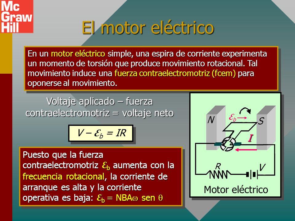 El generador CD Generador CD El simple generador CA se puede convertir a un generador CD al usar un solo conmutador de anillo partido para invertir la