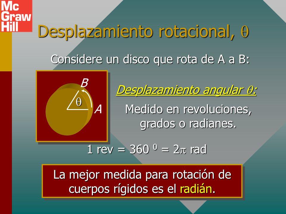 Objetivos: (continuación) Definir el momento de inercia y aplicarlo para muchos objetos regulares en rotación.Definir el momento de inercia y aplicarl