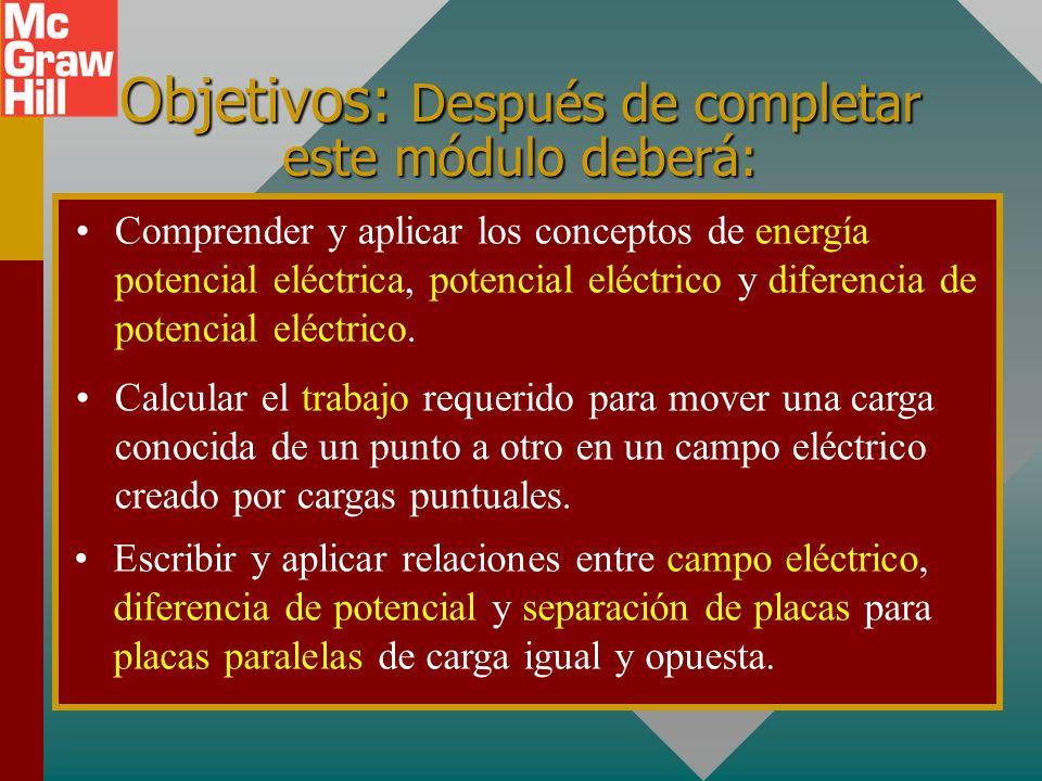 Potencial eléctrico Presentación PowerPoint de Paul E. Tippens, Profesor de Física Southern Polytechnic State University © 2007