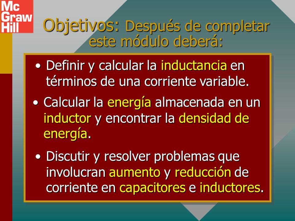 Capítulo 31B – Corrientes transitorias e inductancia Presentación PowerPoint de Paul E. Tippens, Profesor de Física Southern Polytechnic State Univers