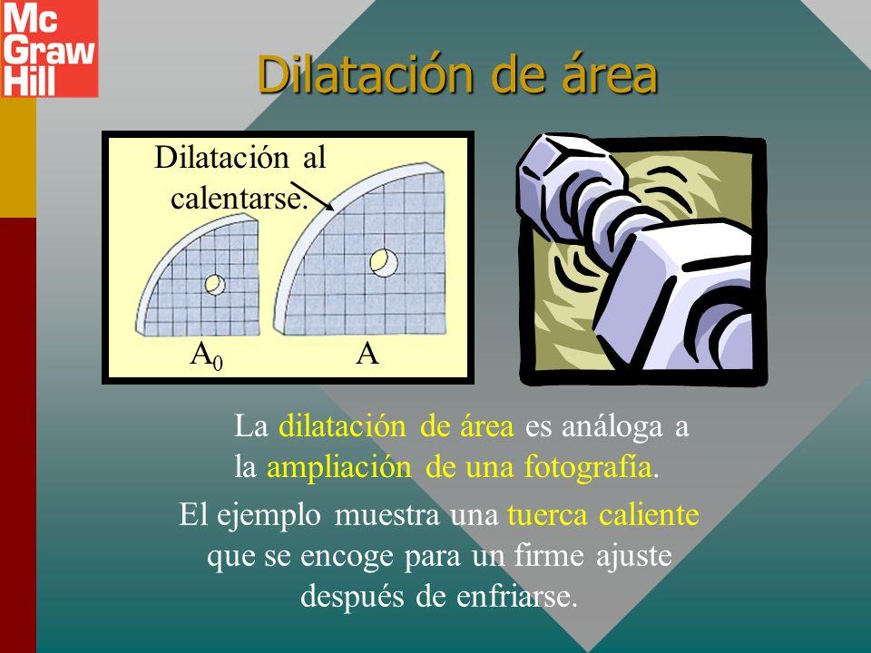 Aplicaciones de la dilatación Junta de dilatación Tira bimetálica Latón Hierro Las juntas de dilatación son necesarias para permitir que el concreto s