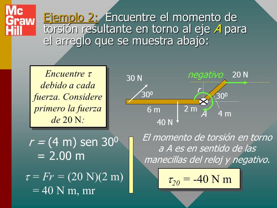 Cálculo del momento de torsión resultante Lea, dibuje y etiquete una figura burda.Lea, dibuje y etiquete una figura burda. Dibuje diagrama de cuerpo l