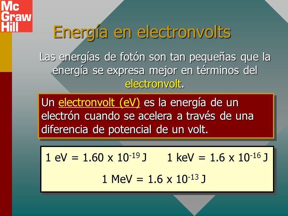 Constante de Planck En su estudio de la radiación de cuerpo negro, Maxwell Planck descubrió que la energía electromagnética se emite o absorbe en cant