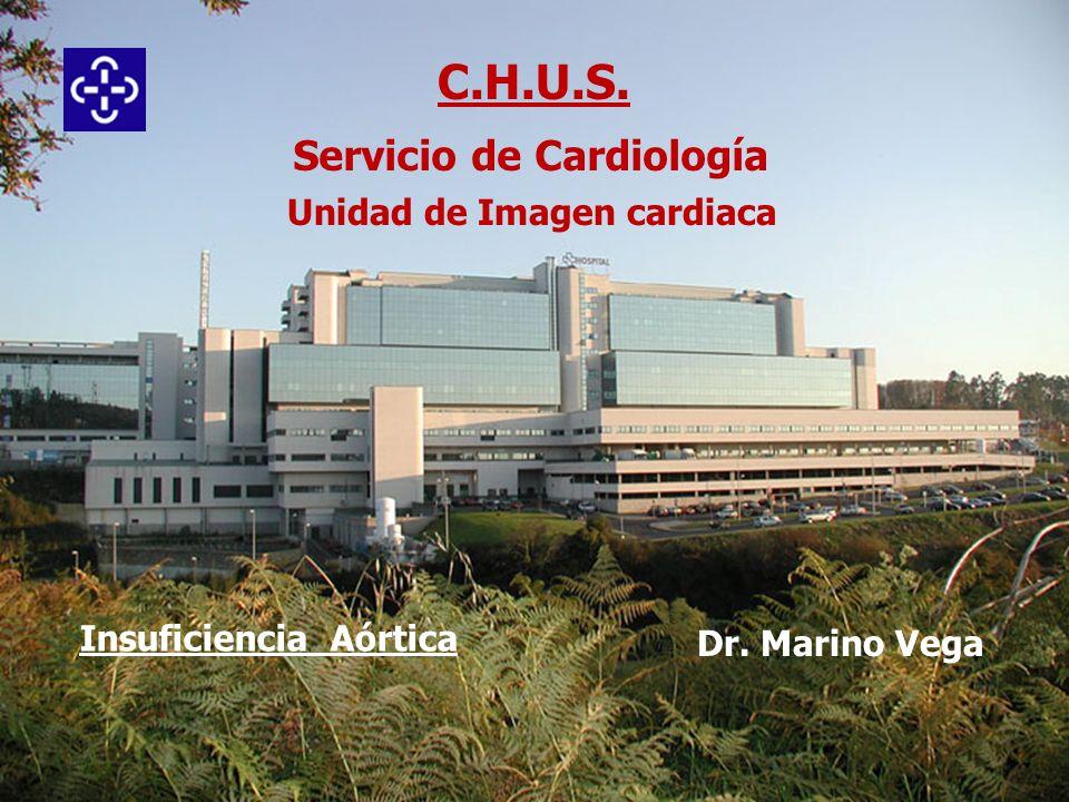 Insuficiencia aórtica Concepto: Reflujo de sangre desde aorta a VI en diástole por cierre defectuoso de la válvula aórtica.