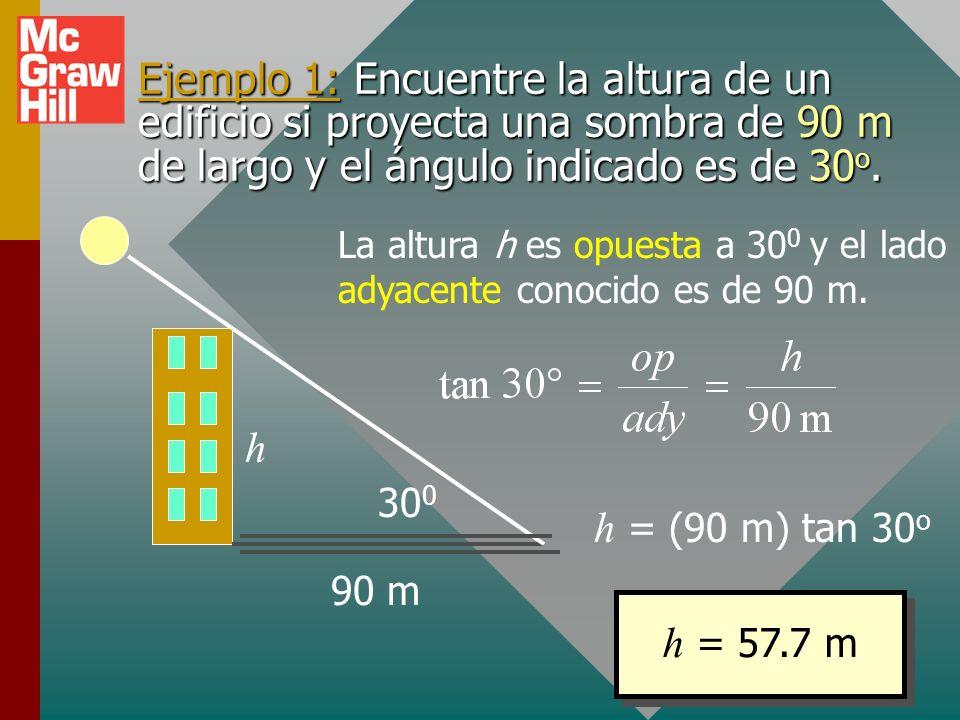 Repaso de trigonometría Aplicación de trigonometría a vectoresAplicación de trigonometría a vectores y x R y = R sen x = R cos R 2 = x 2 + y 2 Trigono