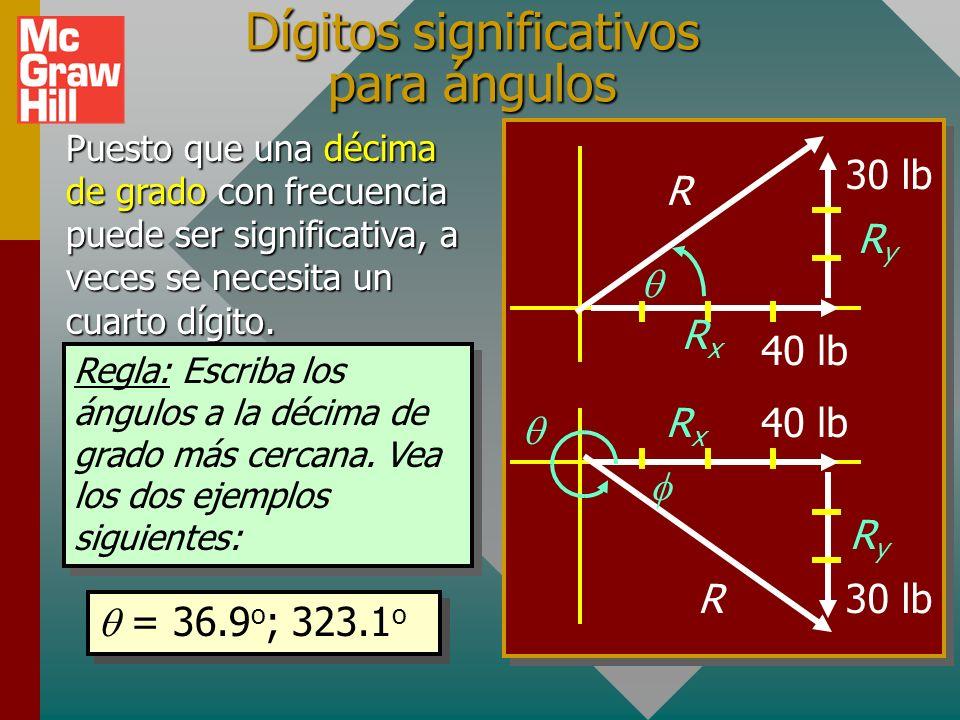 Recordatorio de unidades significativas: EN 2 km A 4 km B 3 km C 2 km D Por conveniencia, siga la práctica de suponer tres (3) cifras significativas p