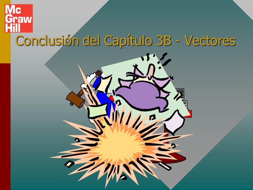 Diferencia vectorial Para vectores, los signos indican dirección. Por tanto, cuando se resta un vector, antes de sumar se debe cambiar el signo (direc
