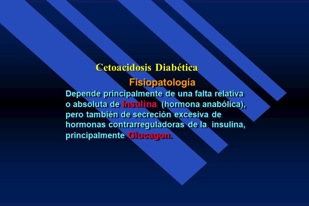 Mortalidad Cetoacidosis Diabética 8.6 % Estudio Año Frecuencia Pease and Coocke 1930 61.9 % Joslins 1931 15.0 % Joslins 1965 5.4 % Hospital General 19