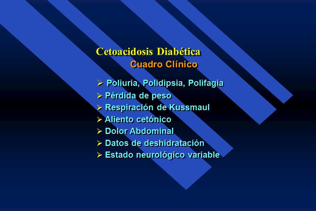 Infección (Viral o bacteriana) Infección (Viral o bacteriana) Omisión en la administración de la Insulina Omisión en la administración de la Insulina