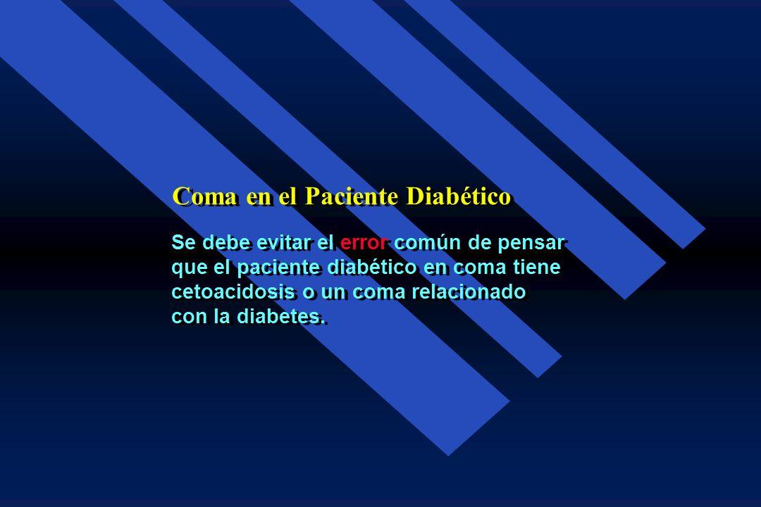 Comas Relacionados con la Diabetes Mellitus Comas Relacionados con la Diabetes Mellitus 1. Coma Hipoglucémico 2.Cetoacidosis Diabética 3.Coma Hiperglu
