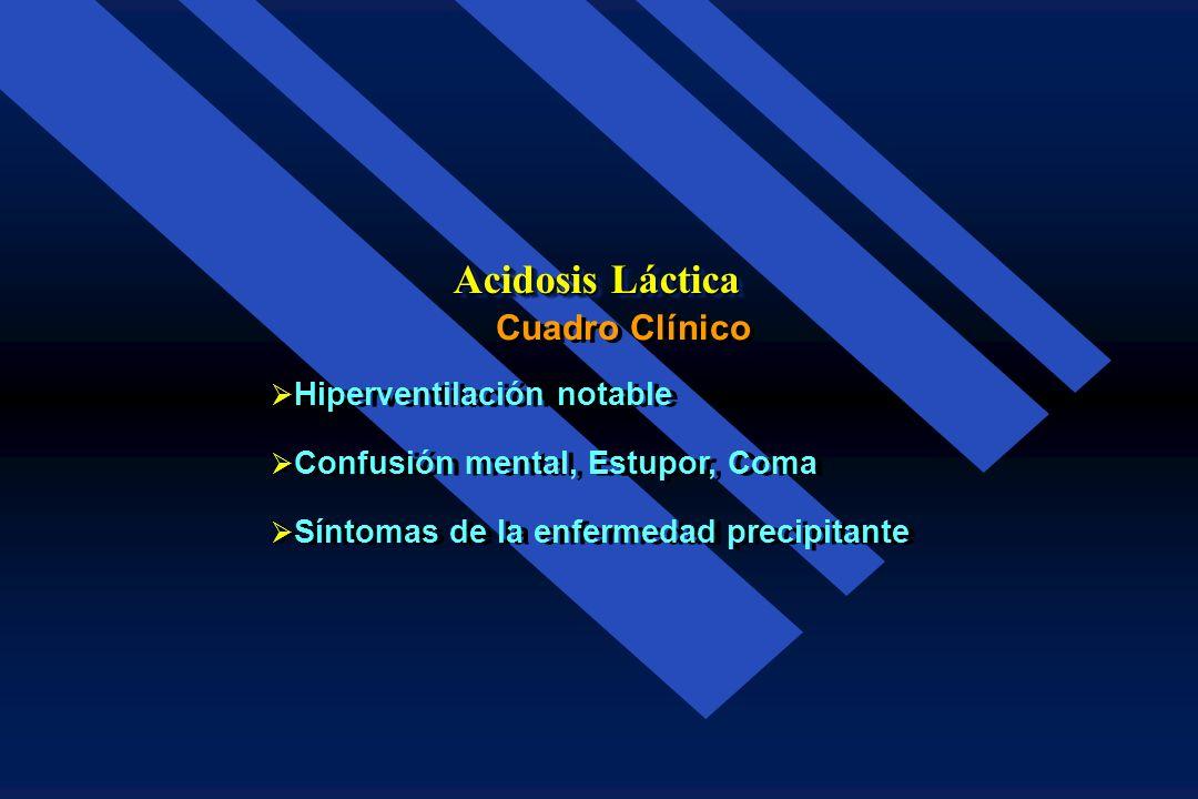 Descompensación cardiaca Insuficiencia respiratoria Insuficiencia hepática Septicemia Infarto del intestino o de extremidades Descompensación cardiaca