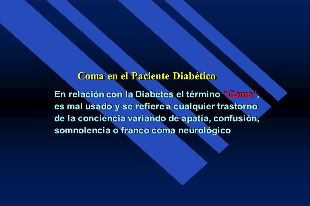 Un paciente diabético cuya situación metabólica se encuentra parcialmente compensada con dosis inadecuadas de insulina, puede ser incapaz de en- frent
