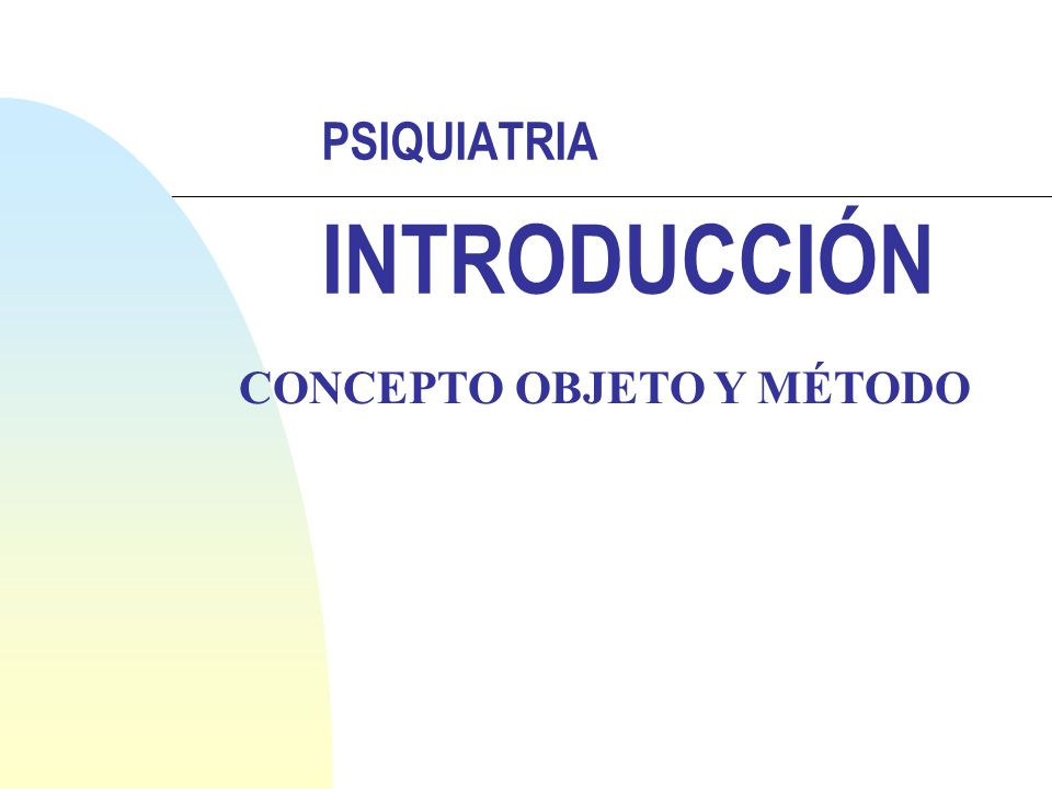 PSIQUIATRIA: Desarrollo Histórico IV Siglo XX n Premedicalización n Medicalización n Diálogo razón-locura