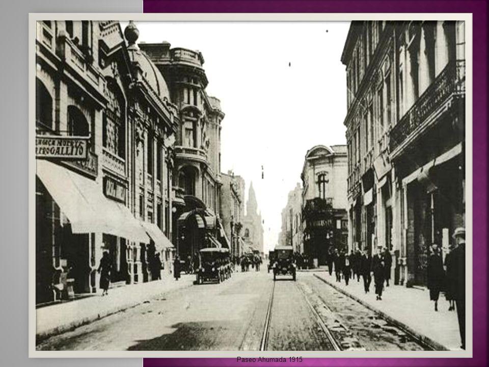 Paseo Ahumada 1915