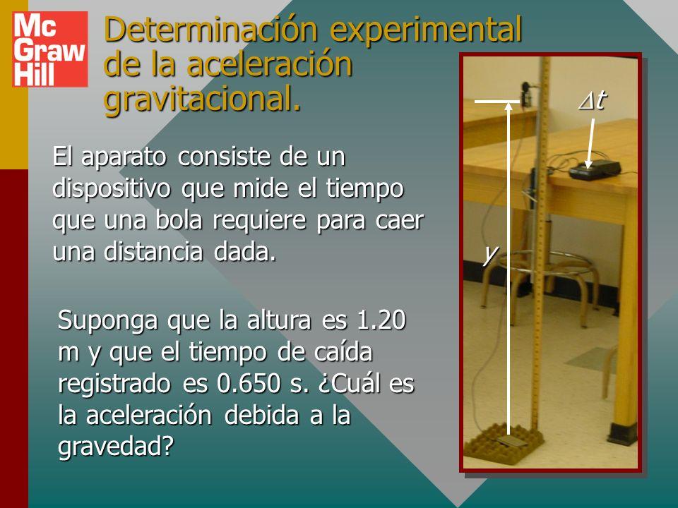 Aceleración gravitacional En un vacío, todos los objetos caen con la misma aceleración.En un vacío, todos los objetos caen con la misma aceleración. L