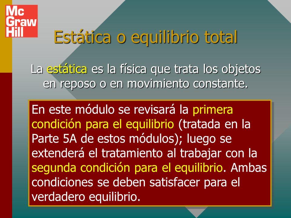 Ejemplo 3: Encuentre las fuerzas ejercidas por los soportes A y B.