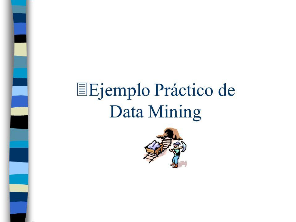 3Ejemplo Práctico de Data Mining