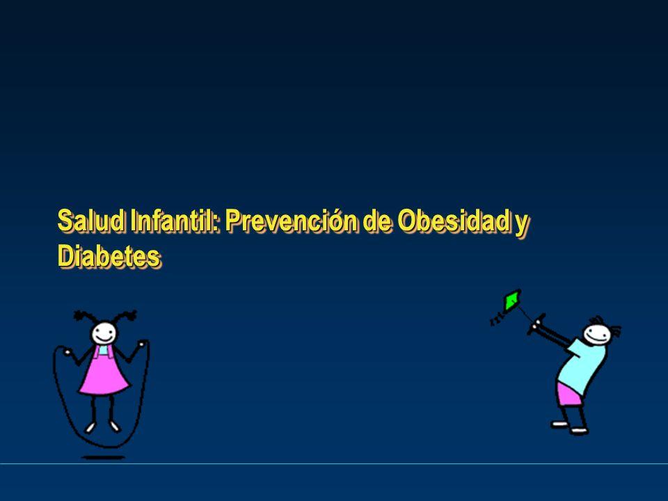 Salud Infantil: Prevención de Obesidad y Diabetes