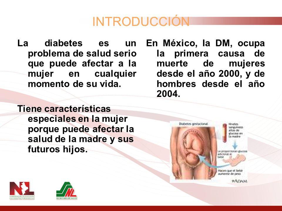 La diabetes es un problema de salud serio que puede afectar a la mujer en cualquier momento de su vida. Tiene características especiales en la mujer p