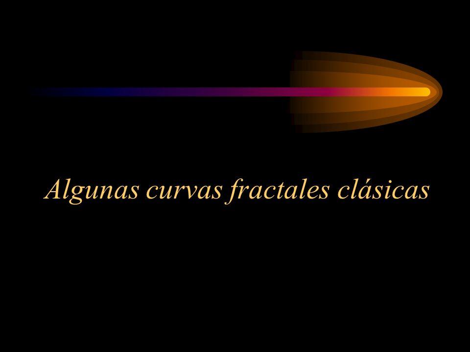 Algunas curvas fractales clásicas