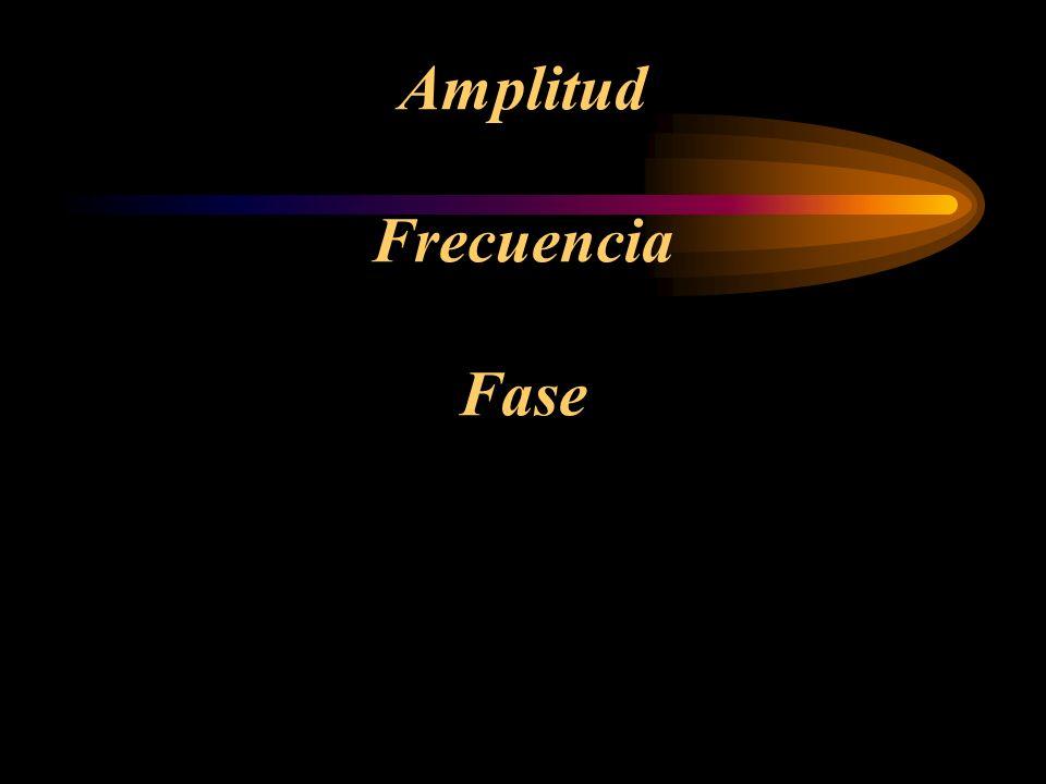 Amplitud Frecuencia Fase