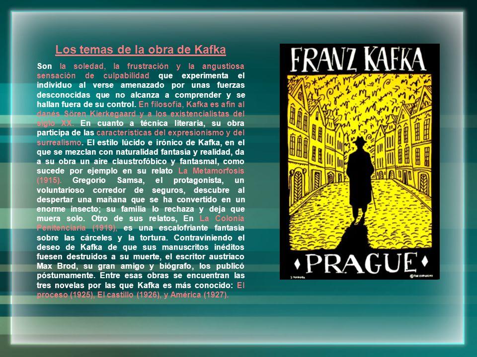 Franz con su hermana Ottla 1º edición de La Metamorfosis Dibujos de Franz Hermanas de Franz Julie Löwy, madre de Franz Kafka y un grupo de amigos Franz con Felice Bauer