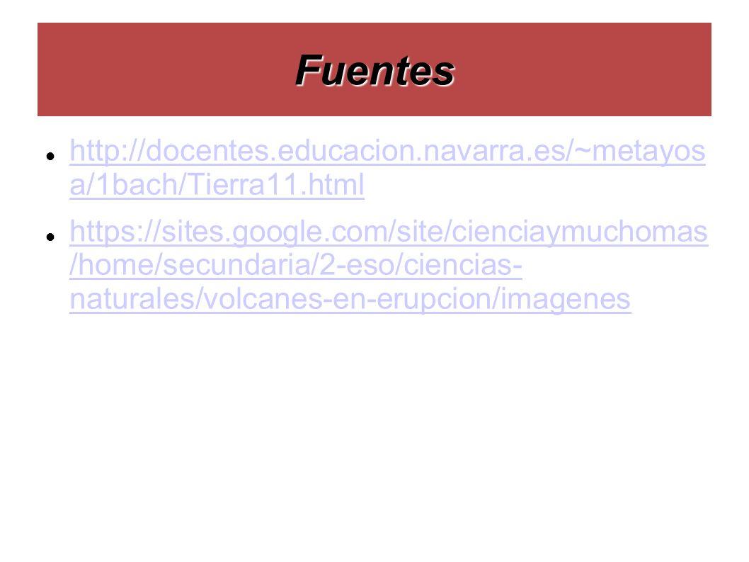 Fuentes http://docentes.educacion.navarra.es/~metayos a/1bach/Tierra11.html http://docentes.educacion.navarra.es/~metayos a/1bach/Tierra11.html https: