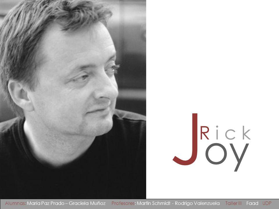 Biografía Rick Joy nace en 1958 en Maine, EE.UU.