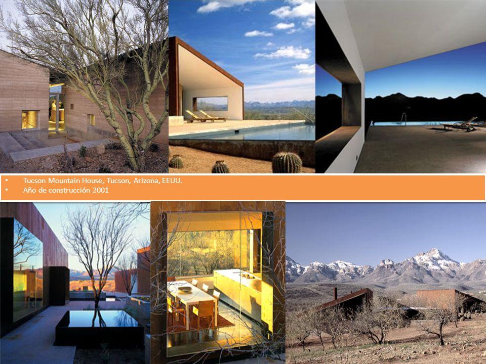 Tucson Mountain House, Tucson, Arizona, EEUU. Año de construcción 2001 Tucson Mountain House, Tucson, Arizona, EEUU. Año de construcción 2001