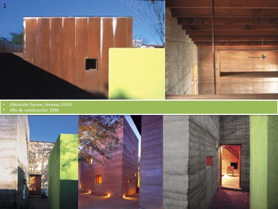 1 2 Ubicación Tucson, Arizona, EEUU. Año de construcción 1996 Ubicación Tucson, Arizona, EEUU. Año de construcción 1996