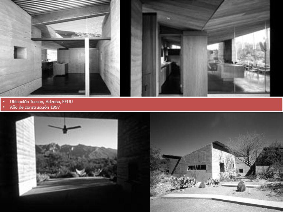 Ubicación Tucson, Arizona, EEUU Año de construcción 1997 Ubicación Tucson, Arizona, EEUU Año de construcción 1997