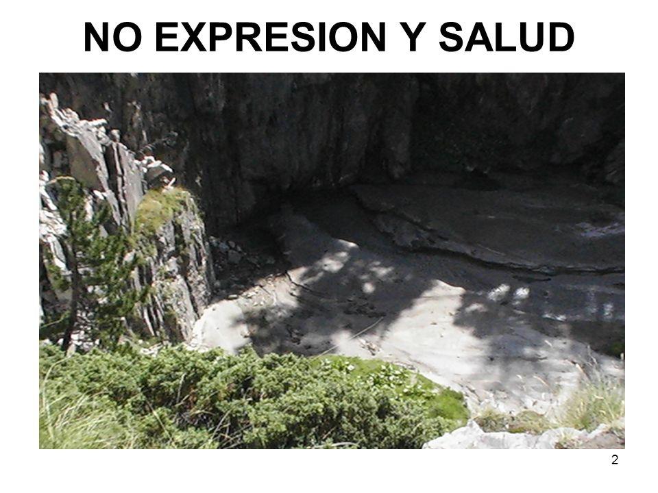 2 NO EXPRESION Y SALUD