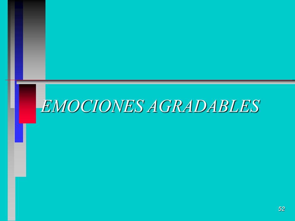 52 EMOCIONES AGRADABLES