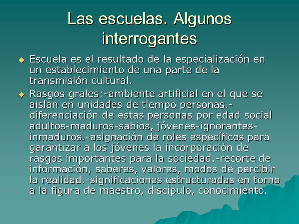 La ideología institucional: concepciones y representaciones que justifican el modelo y el estilo que se expresa.