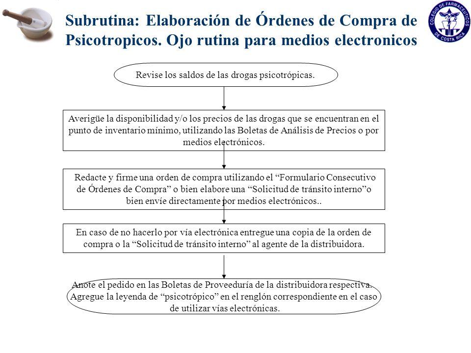 CP-001-04 Viernes, 27 de agosto de 2004 Orden de Compra de medicamentos psicotrópicos Proveedor: Gutis Farmacéutica.