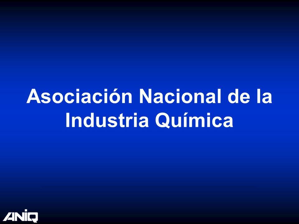 Fuente: Datos de ANIQ para las exportaciones del sector químico.