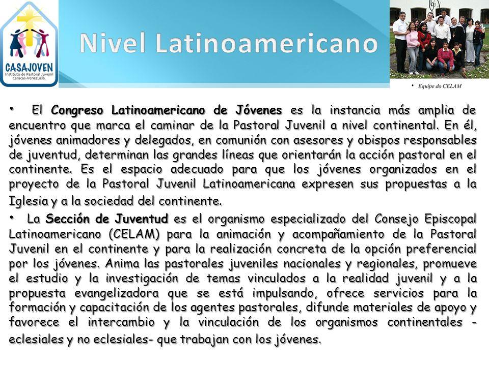 El Congreso Latinoamericano de Jóvenes es la instancia más amplia de encuentro que marca el caminar de la Pastoral Juvenil a nivel continental. En él,