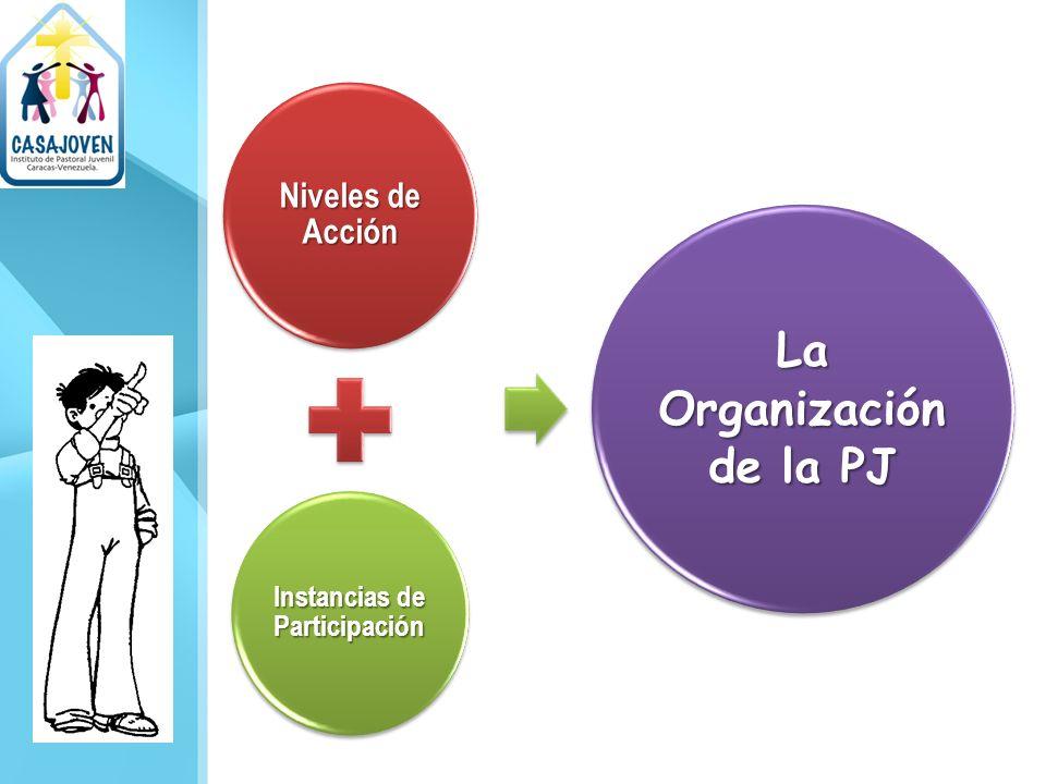 Niveles de Acción Instancias de Participación La Organización de la PJ