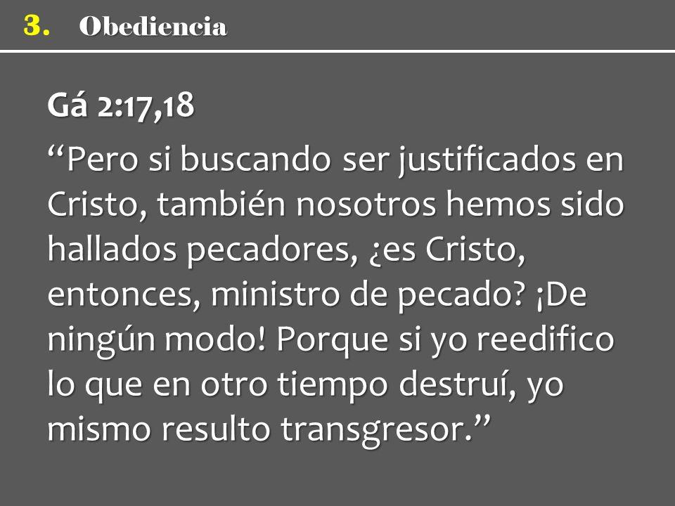 Obediencia 3.
