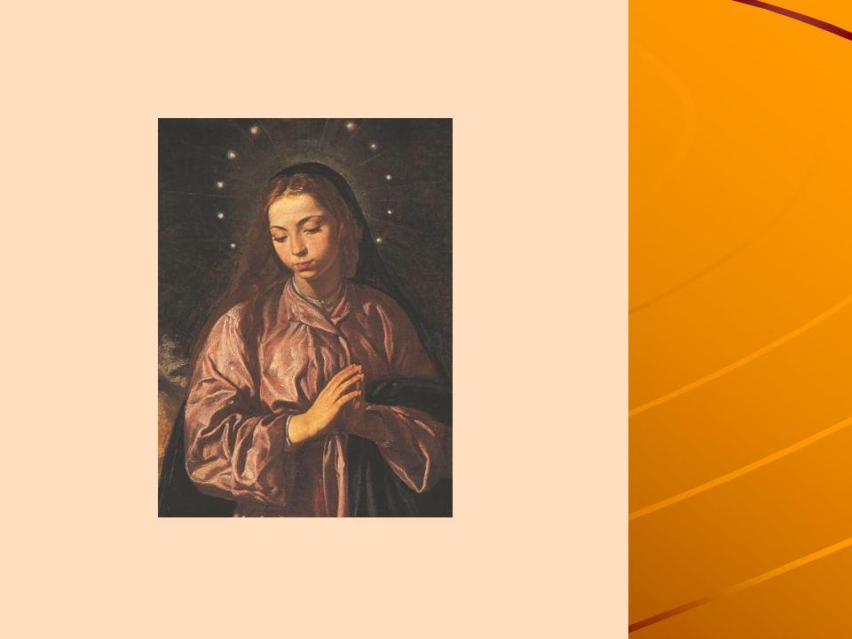 Diego de Velázquez La Inmaculada Concepción. Galería Nacional, Londres.Este cuadro fue pintado para el Carmen Calzado de Sevilla, que celebraba fiesta