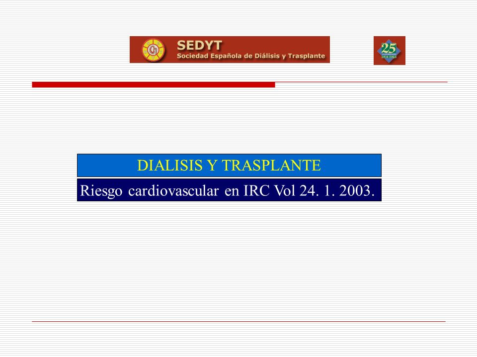 XXV CONGRESO SEDYT PUERTO DE SANTAMARÍA ENOD Transversal Datos preliminares