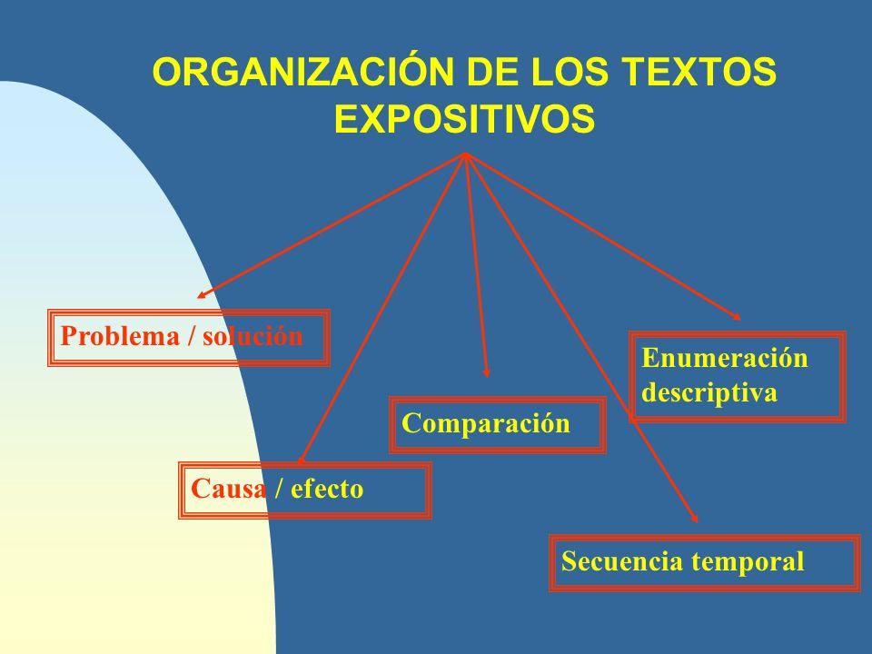 Problema / Solución n El texto plantea variados problemas dignos de ser analizados.