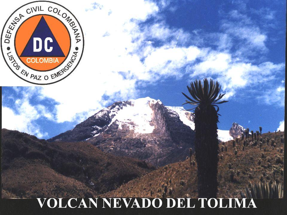 VOLCAN NEVADO DEL TOLIMA