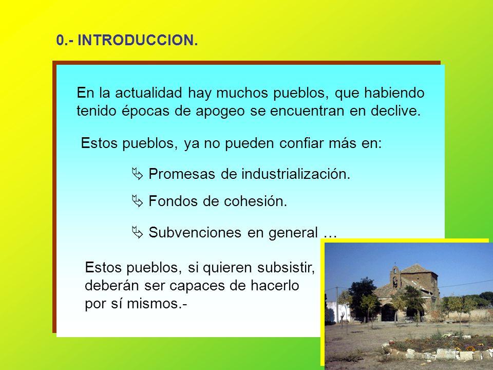 42 2.- Embellecimiento del centro urbano.Limpiar los solares de casas en ruinas.
