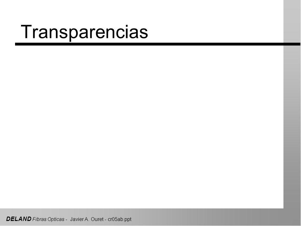 DELAND Fibras Opticas - Javier A. Ouret - cr05ab.ppt Transparencias